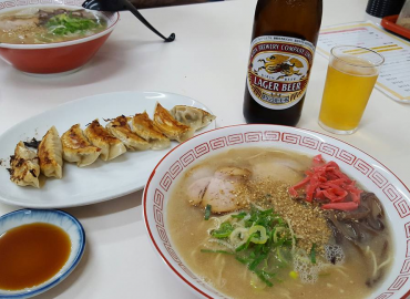Ramen  – This will warm you up in cold weather!