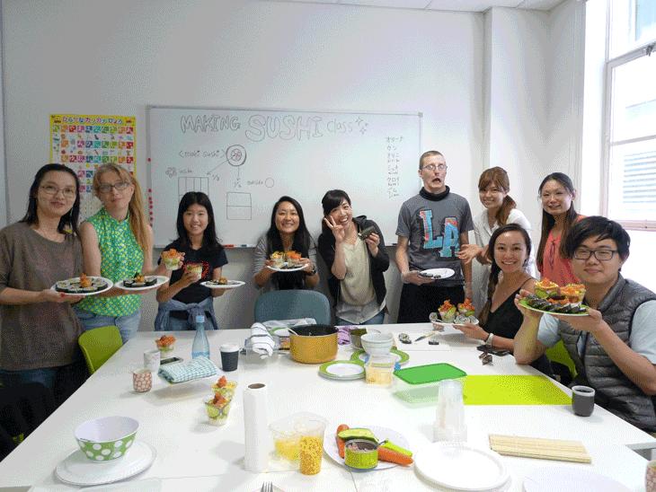 sushi making class melbourne